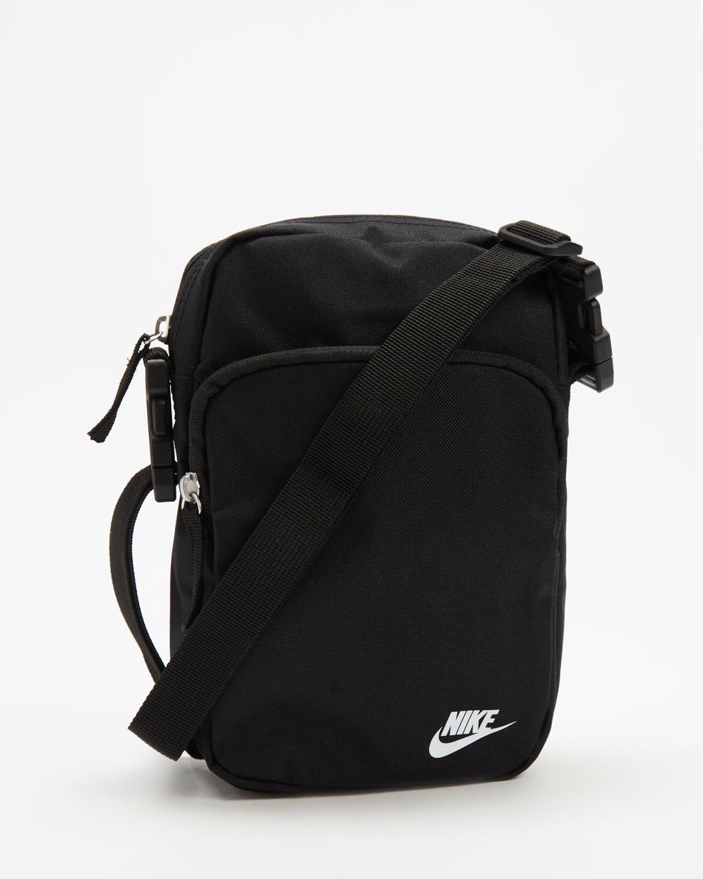 Nike Heritage Crossbody Bags Black & White