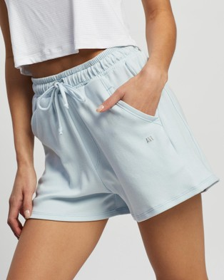 AVE Activewoman Track Shorts Blue