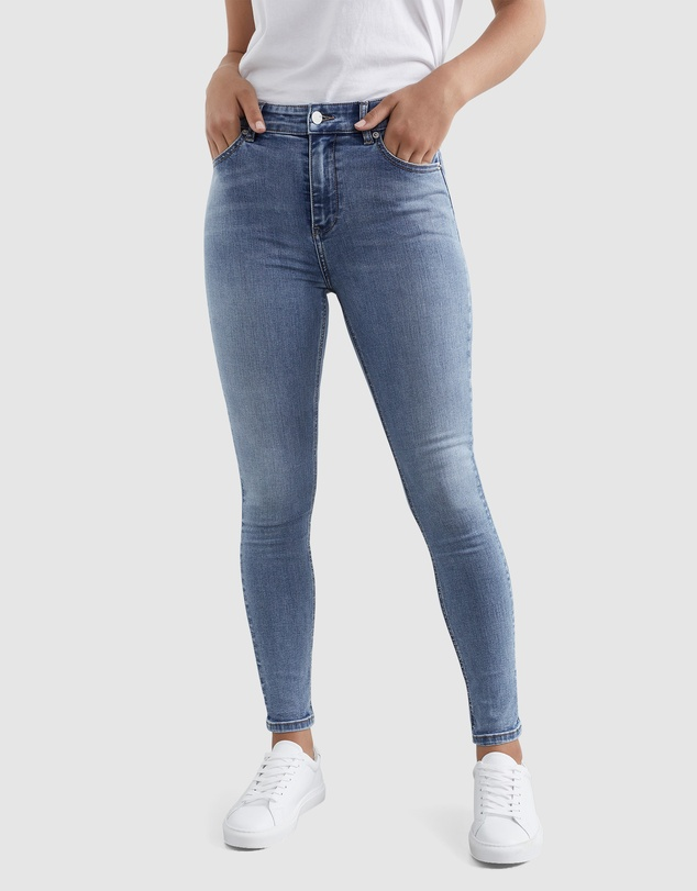 French Connection - High Rise Skinny Jeans