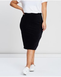 Cotton On - Curve Textured Tube Skirt