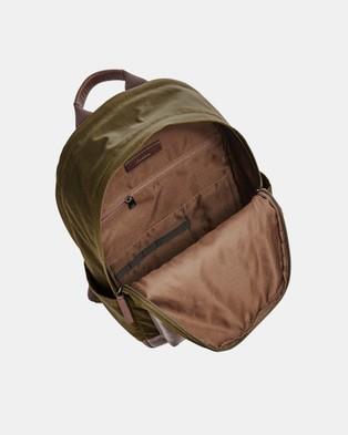 Fossil Buckner Green Backpack - Backpacks (Green)