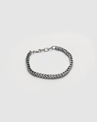 Buck Palmer - Fishbone Bracelet Jewellery (OXIDIZED)