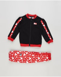 adidas Performance - Minnie Mouse Jogger Set - Babies-Kids