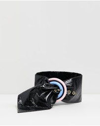 Bec + Bridge - PU Belt with D Buckle