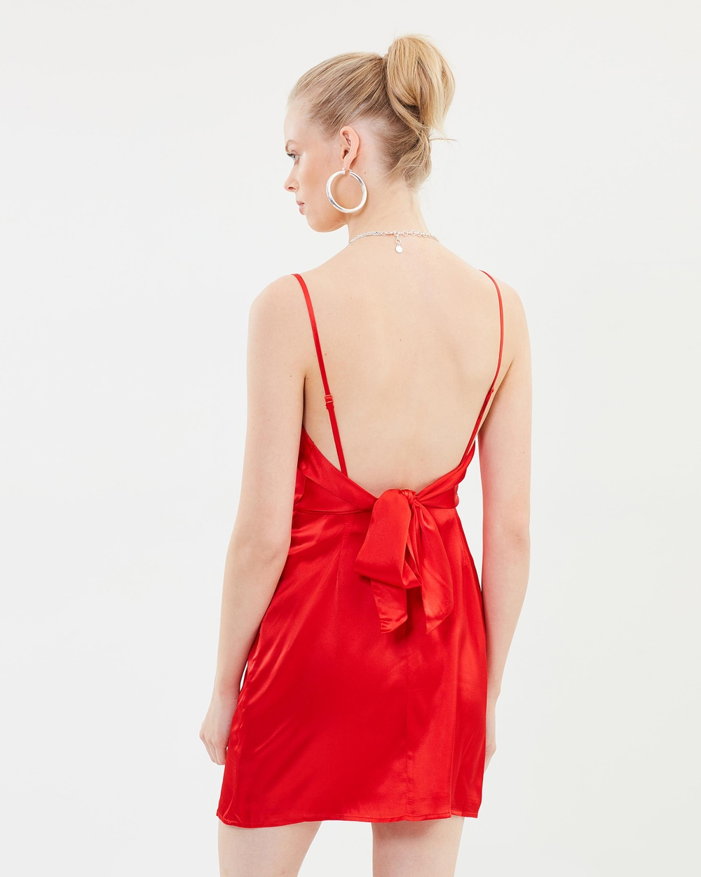 Hansen & Gretel Isla Silk Dress Dresses Scarlet Isla Silk Dress