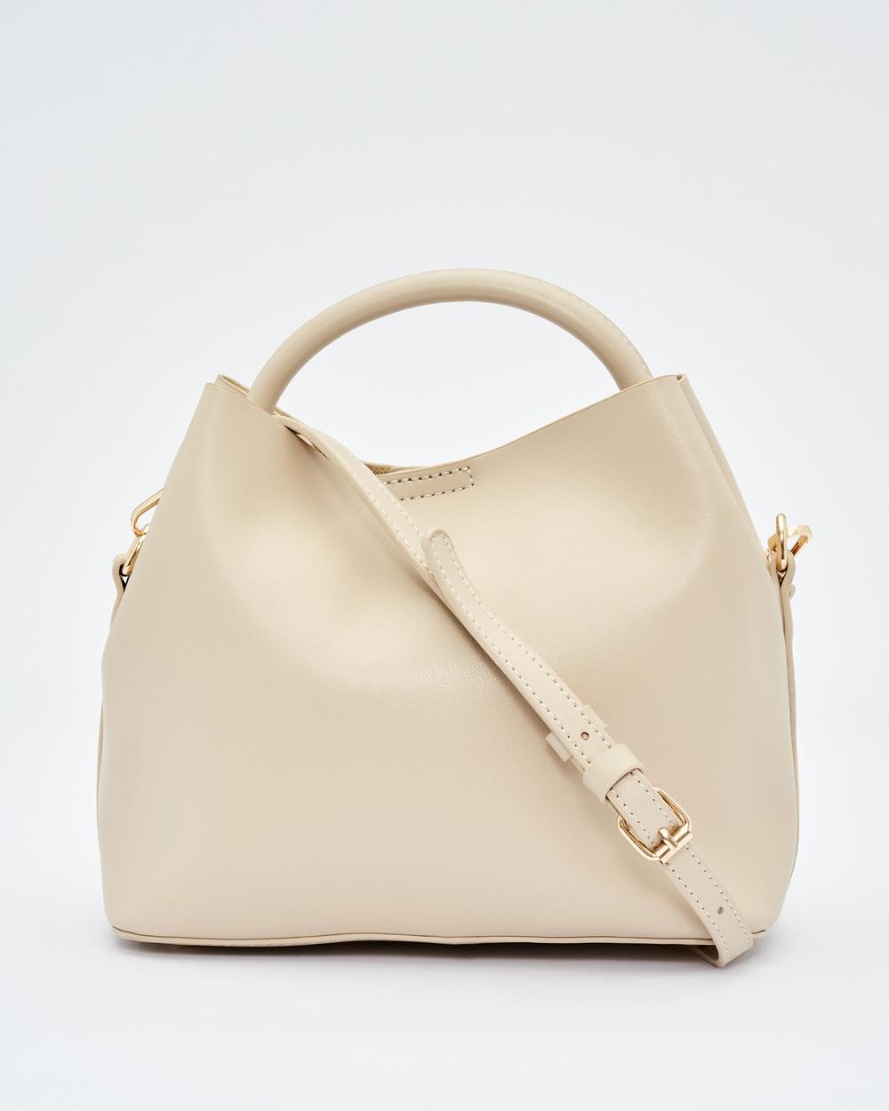 Tussah Willow Bag Handbags Beige