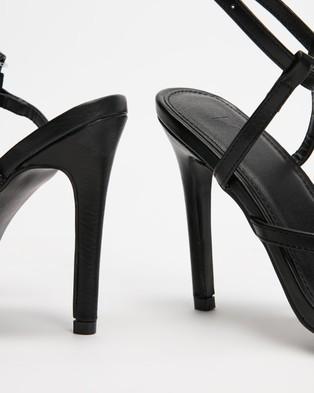 4th & Reckless - Anais Heels - Heels (Black) Anais Heels