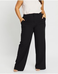 Atmos&Here Curvy - Cindy Wide Leg Pants