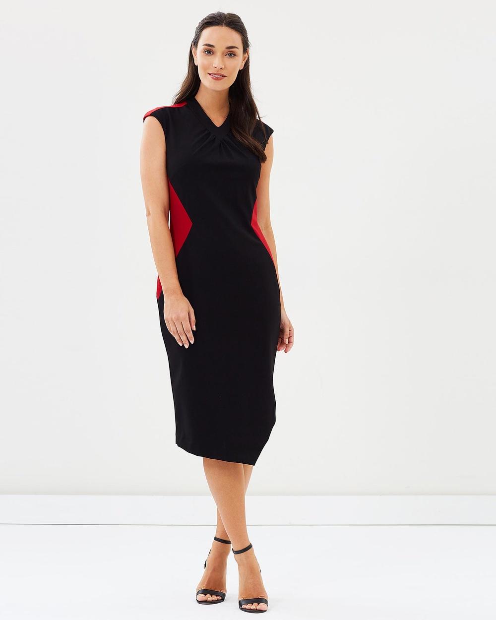 Pink Ruby Sabine Dress Dresses Black & Red Sabine Dress