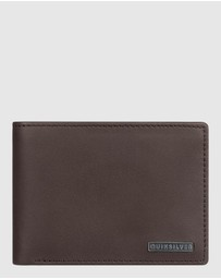 Quiksilver - Mens Gutherie Bi Fold Leather Wallet