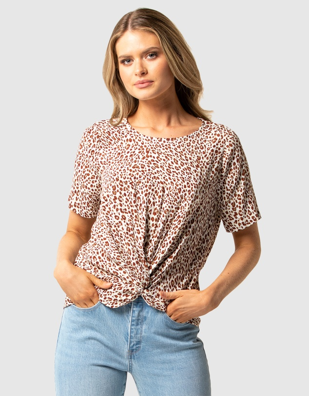 Forever New - Sophia Twist Front Blouse