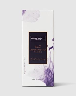 Edible Beauty No. 2 Citrus Rhapsody Toner Mist - Beauty (N/A)