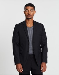 CK Shirts - Plain Slim Suit Jacket