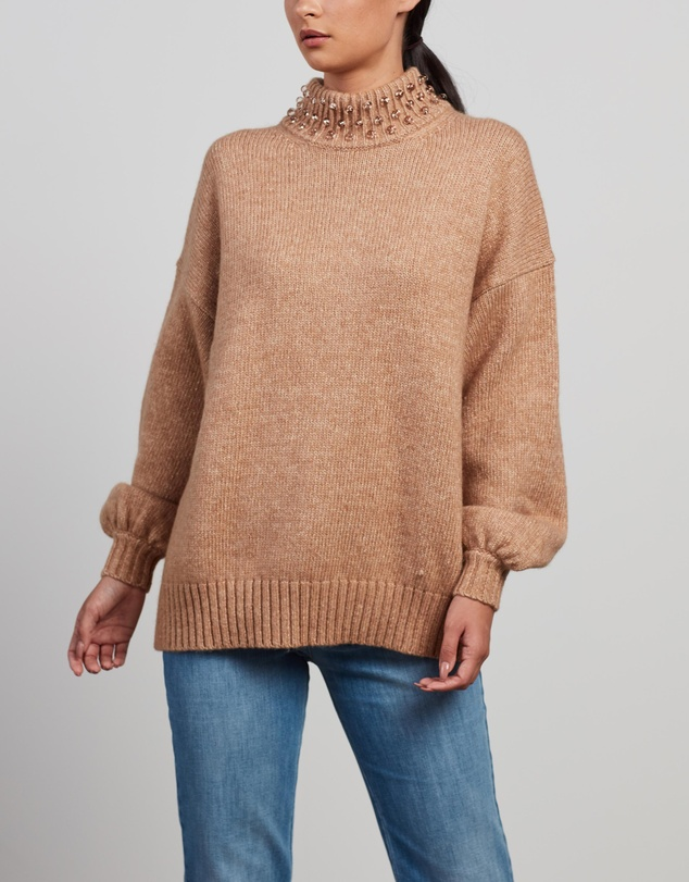 See By Chloé - Sphere-Embellished Jumper