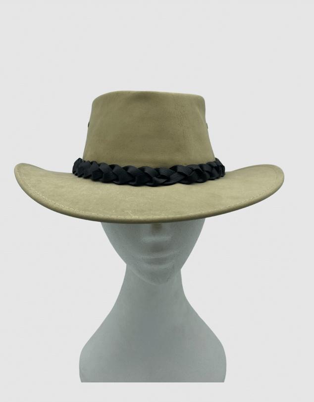 Women Jacaru 1001 Kangaroo Leather Hat