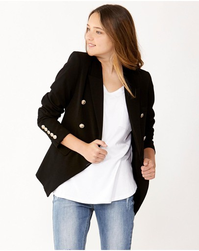 Decjuba Kids - Cleo Blazer Jacket - Kids-Teens