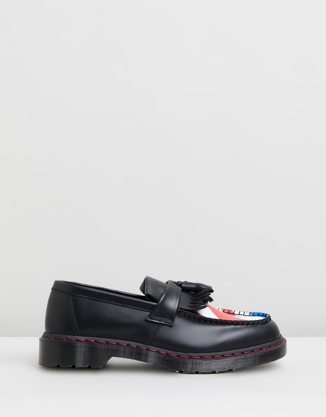 Adrian Who Tassel Loafers   Unisex by Dr Martens