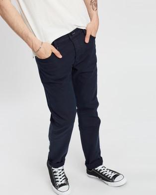 Neuw Lou Slim Twill Pants - Pants (Navy)