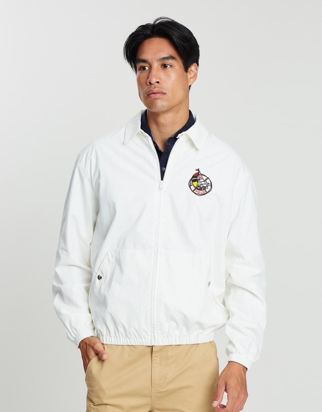 Polo Ralph Lauren - CP-93 Capsule Back Sailboat Logo Print Harrington Jacket