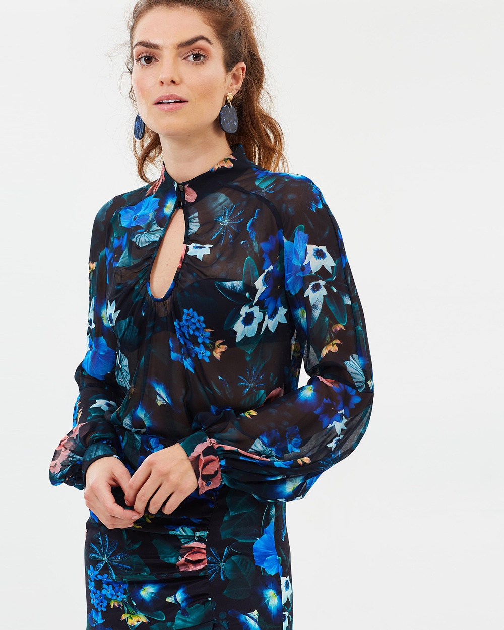 Ginger & Smart Harmony Blouse Tops Harmony Floral Harmony Blouse