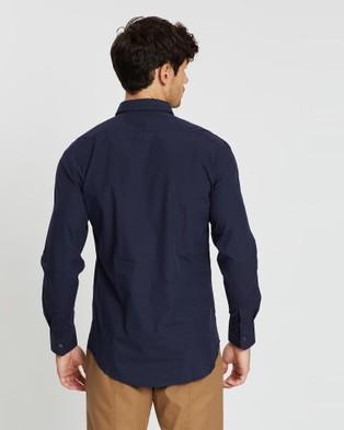 CERRUTI 1881 Half Placket Shirt - Casual shirts (Navy)