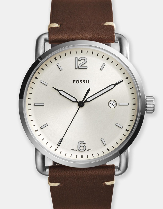 Fossil - Commuter Brown Analogue Watch