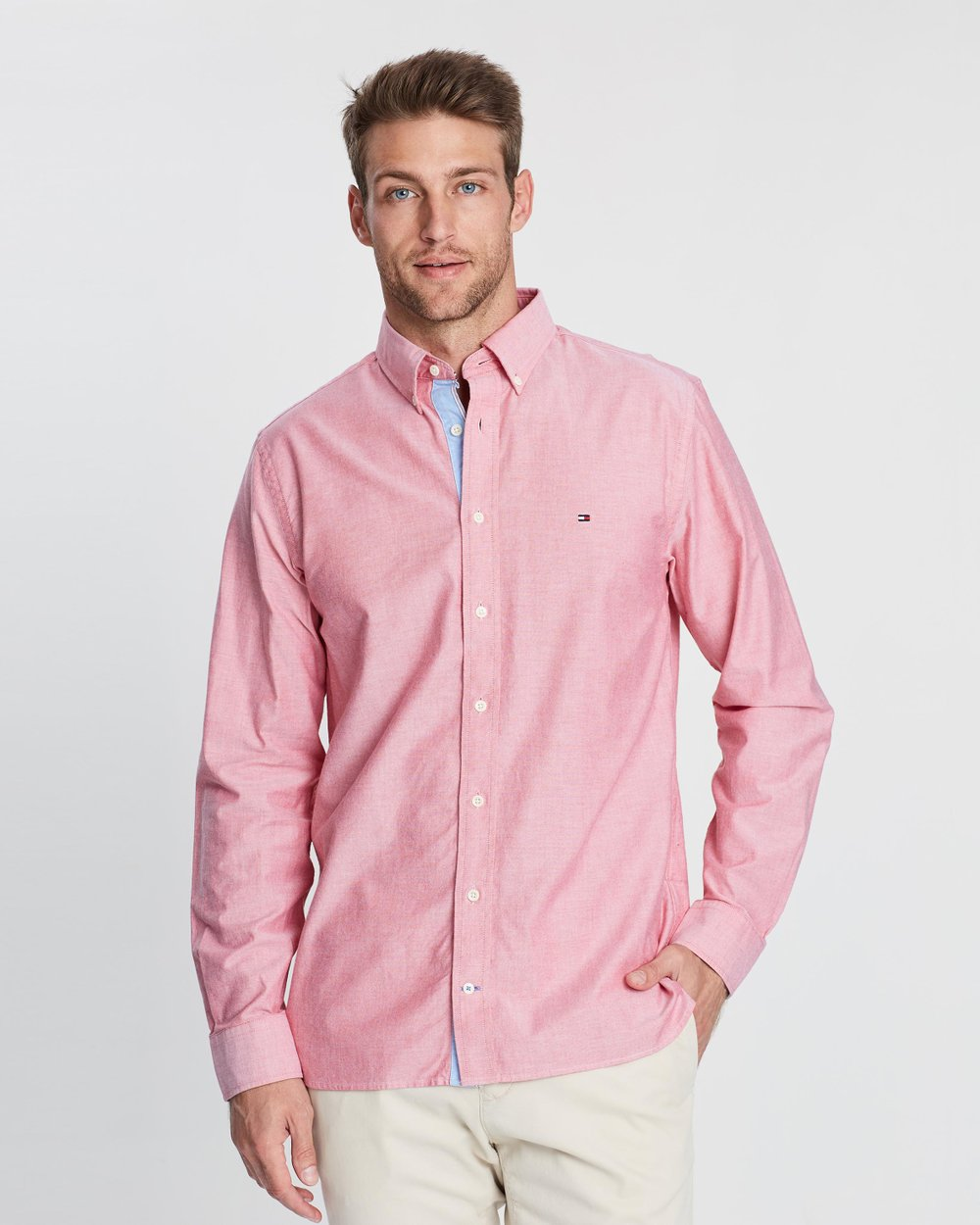 1eb63d45 Organic Oxford Shirt by Tommy Hilfiger Online | THE ICONIC | Australia