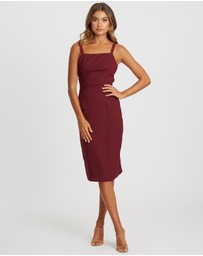 CHANCERY - Paris Draped Dress