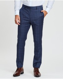 CK Shirts - Check Suit Pants