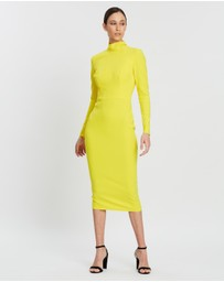 Alex Perry - Mason Stretch Turtleneck LS Dress