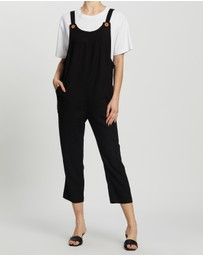 Atmos&Here - Anika Linen Blend Jumpsuit