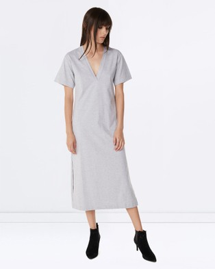 Third Form – The Knowing Maxi – Dresses (Grey Marle)