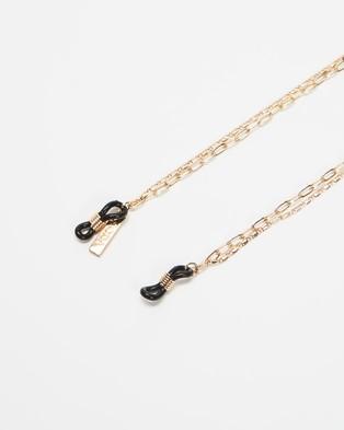 Soda Shades Duo Sunglasses Chain - Sunglasses (Gold)
