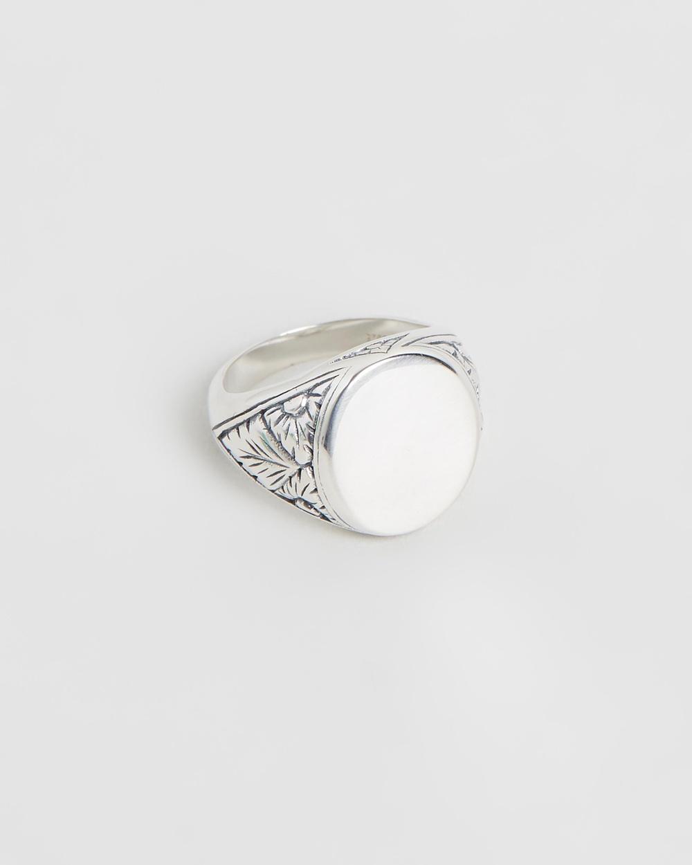 Serge DeNimes Thistle Ring Jewellery Silver