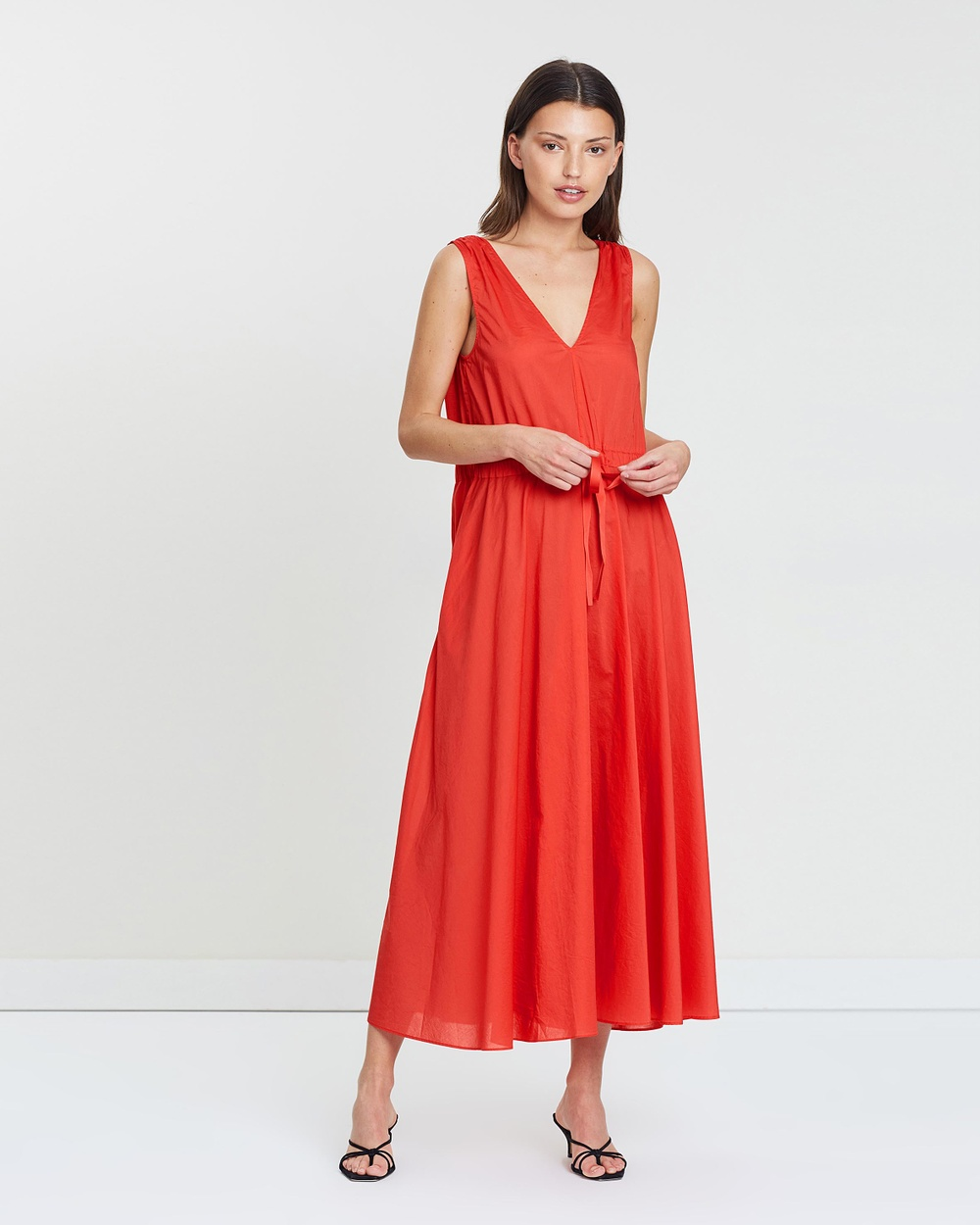 Jac + Jack Mila Red Evi Dress