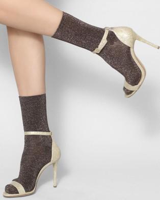High Heel Jungle Glitterati Socks - Socks & Tights (Copper)
