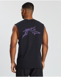 Rusty - Neon Core Gothic Muscle Tee