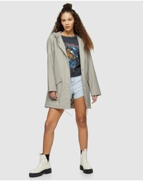 TOPSHOP - Rain Mac Jacket