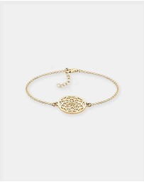 Elli Jewelry - Bracelet Dreamcatcher 925 Silver Gold Plated
