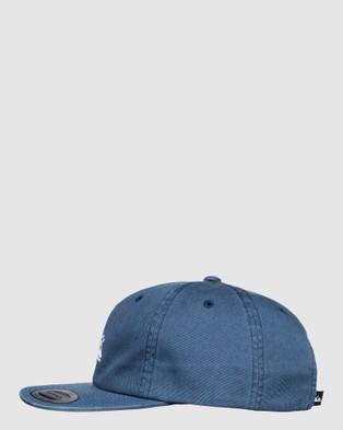 Quiksilver Mens Taxer Snapback Cap - Headwear (BLUE NIGHTS)
