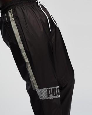 Puma Train Woven Pants - Track Pants (Puma Black, Ultra Grey & Puma White)