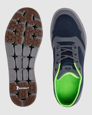 Quiksilver Mens Amphibian Plus Shoes - Training (BLUE/BLUE/GREY)