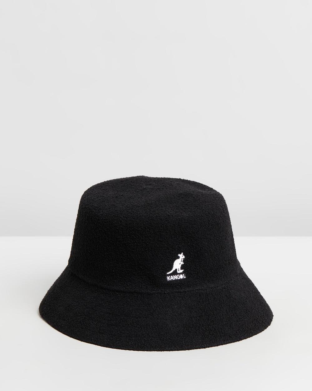 Kangol Bermuda Bucket Hat Hats Black