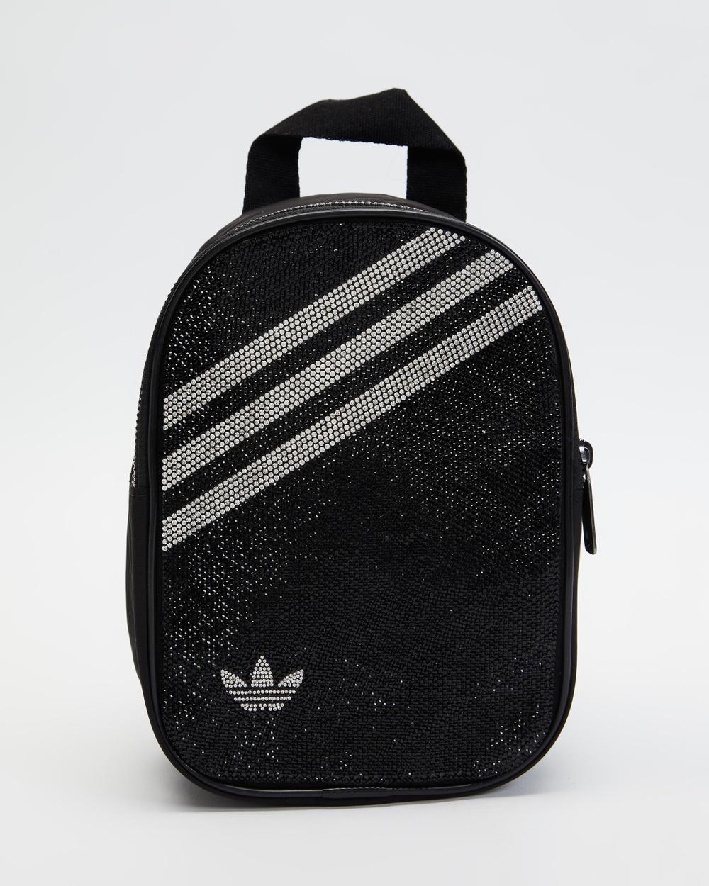 adidas Originals Metallic Mini Backpack Backpacks Black