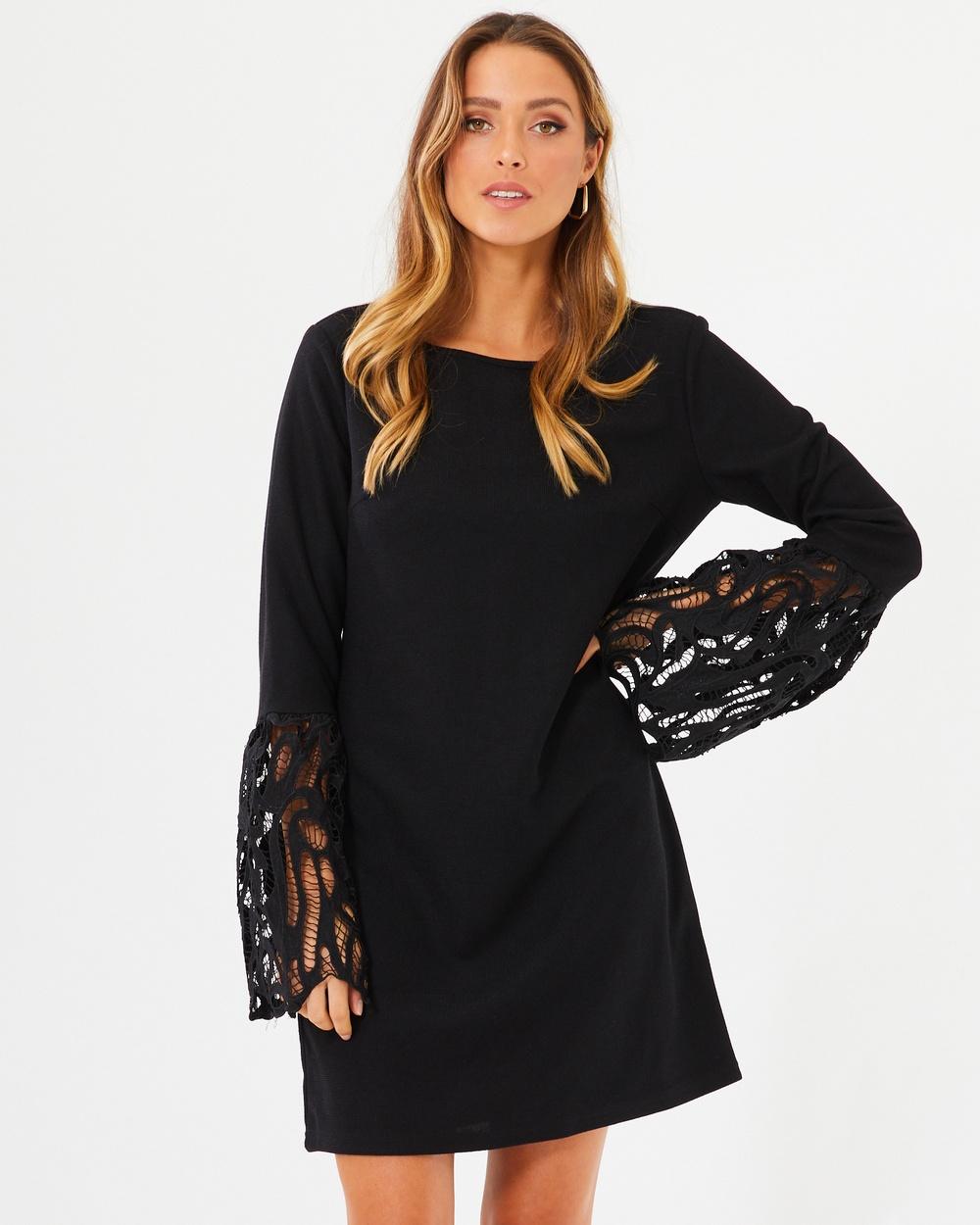 Calli Loretta Dress Dresses Black Loretta Dress