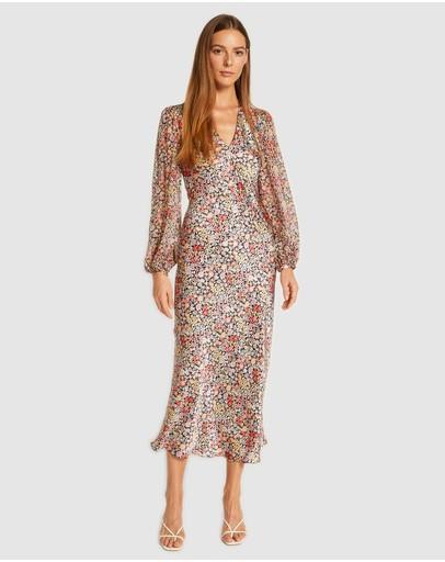Ginia Rtw Bloomscape Stella Dress