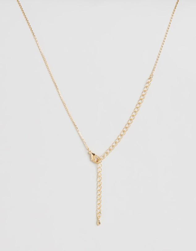 Women Letter Necklace - J