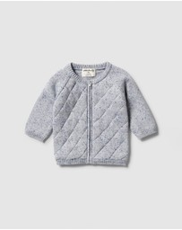 Wilson & Frenchy - Knitted Quilted Cardigan - Babies