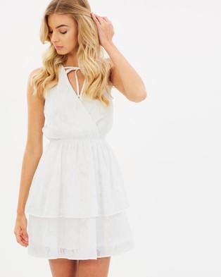 Atmos & Here – Dixie Ruffle Dress White