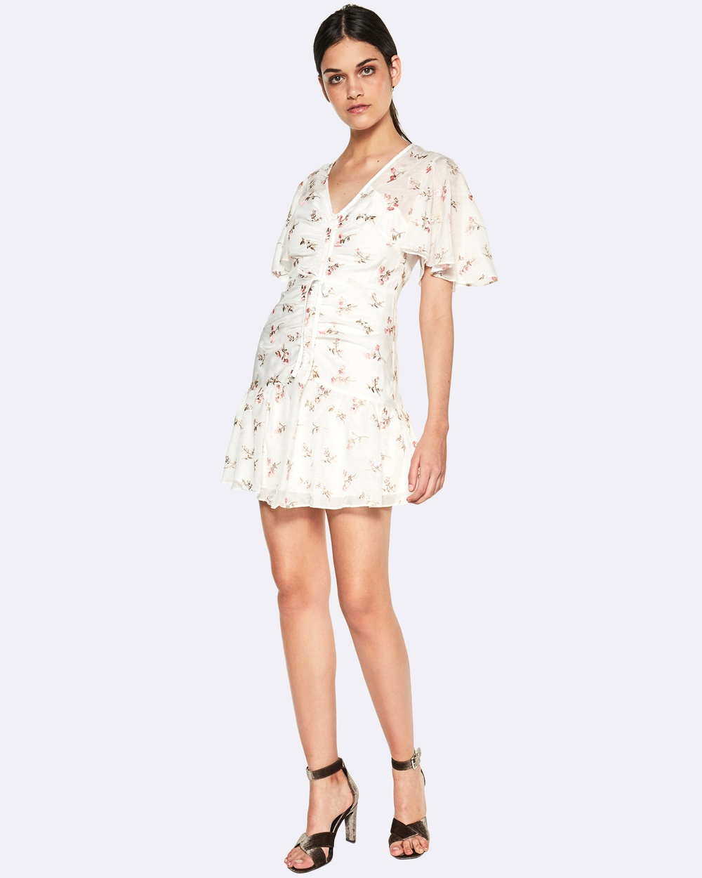 Talulah Covet Mini Dress Printed Dresses Pink Covet Mini Dress